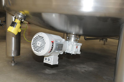 ATEX tanks for alcohol maceration